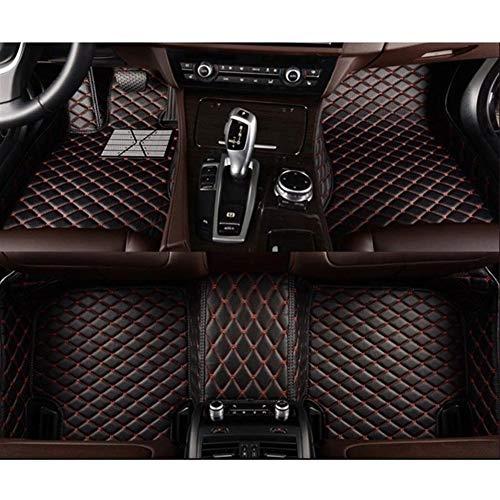 ZhengELE Car Styling Accesorios Custom Car pie esteras de la Alfombra Cubierta del Coche tapetes for DS DS3 DS4 DS5 DS4S DS6 (Color Name : Dark Brown)