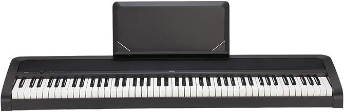 KORG 電子ピアノ B2N 88鍵 ライトタッチ鍵盤 ダンパーペダル、譜面立て付属 3か月無料オンラインピアノレッスン付
