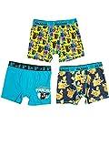 Pokemon Boys Detective Pikachu 3pc Boxer Shorts Set Underwear Briefs XS 4