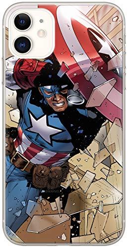 Ert Group MPCCAPAM7628 Custodia per Cellulare Marvel Captain America 021 iPhone 11