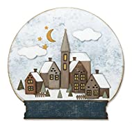 Sizzix Thinlits Die Set 662421, Snowglobe #2 by Tim Holtz, 26 Pack, Multi Color, One Size