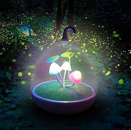 Ultra magico giardino portatile luce notturna dimmerabile lampada fungo LED sensore tocco notte luci a basso consumo di energia elettrica LED luce notturna per bambini luce notturna bambino bambini adulti