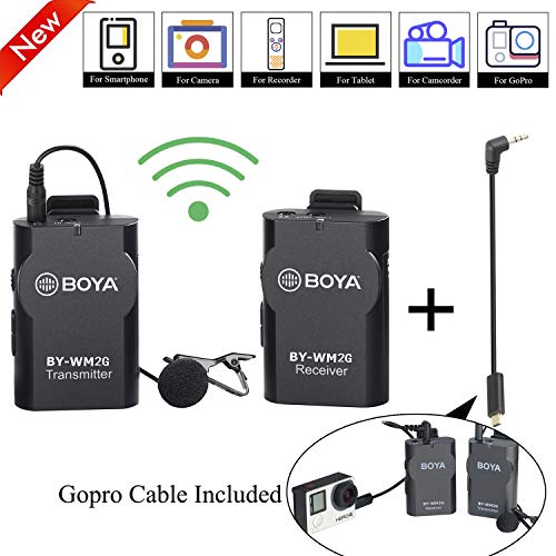 BOYA BY-WM2G Universal Lavalier Wireless Microphone NEW