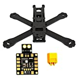 LHI 220-RX H210 H220 FPV Racing Quadcopter Frame Carbon Fiber +PDB XT60 Power distribution board 5V 12V Output Support 6 ESC