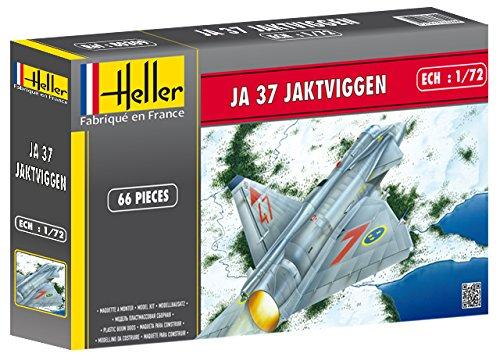 エレール 1/72 JA37ヤクトビゲン プラモデル HEL80309