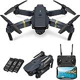 UYZ Drone Plegable con cámara HD 720P para Adultos, FPV WiFi RC Quadcopter, 120 & deg;Cámara de Video en Vivo de Gran Angular, retención de altitud, Control de aplicación, Retorno de una tecla,