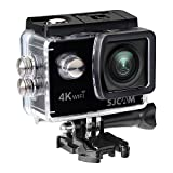 SJCam SJ4000 Air - Videocámara (4K, 16 MP, WiFi, Pantalla Trasera 2' LTPS LCD), Color Negro