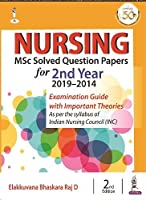 Nursing MSc Solved Question Papers for 2nd Year (2019-2014)
