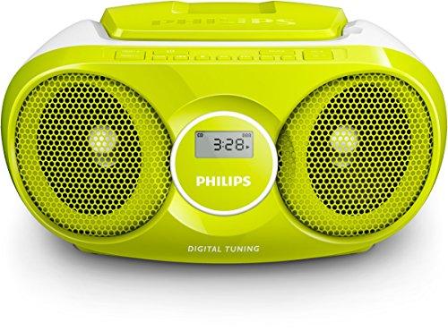 Philips AZ215C/12 CD-speler (radio, 3 watt) groen