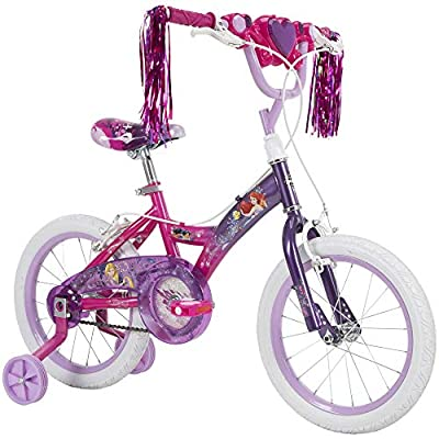 Huffy Disney Princess Kid Bike 12 in & 16 in w/ Quick Connect Assembly by Huffy Bicycle Company