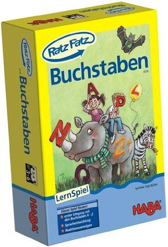 Haba 4536 - Ratz Fatz Buchstaben, Spiele und Puzzles