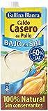 Gallina Blanca - Caldo casero de pollo bajo en sal 100% natural, 1 L