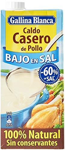 Gallina Blanca - Caldo casero de pollo bajo en sal 100% natu