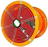 LLDKA Extractor de Aire de 8 Pulgadas Aseo Baño de Volumen de Aire: 1800m3 / h Velocidad: 2800r / min Presión del Viento: 160Pa Ruido: 64dB,12 Inches