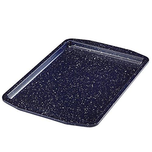 Paula Deen 46814 Nonstick Speckle Bakeware, Nonstick Cookie Sheet / Baking Sheet - 10 Inch x 15 Inch, Deep Sea Blue Speckle
