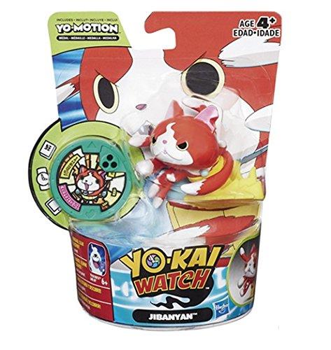 Yo-Kai Watch Figura y Medalla Yo-Motion, 8 cm (Hasbro C0463EQ00)
