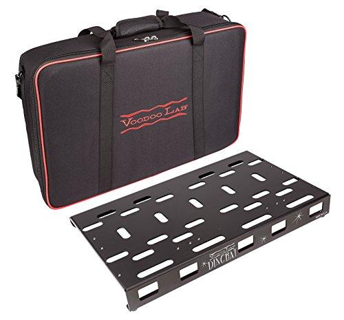 Voodoo Lab Dingbat Pedalboard mit Pedalboard Standard-Packung Medium schwarz