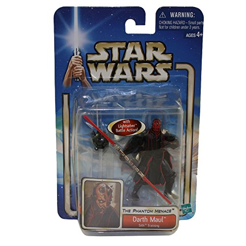Hasbro Darth Maul Sith Training The Phantom Menace Figur No.42 - Star Wars Saga Collection 2002-2004