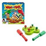 Mattel Games Whac-a-mole juego de mesa con luces y sonidos, juego para niños y niñas +4 años (Mattel GVD47)