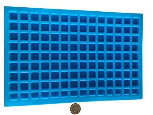 126 Quadrate Rechteck Pralinen Silikonform Backform Schokoladenform Eiswürfelform Pralinenform