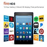 Fire HD 8 Tablet with Alexa, 8' HD Display, 32 GB, Marine Blue - with...