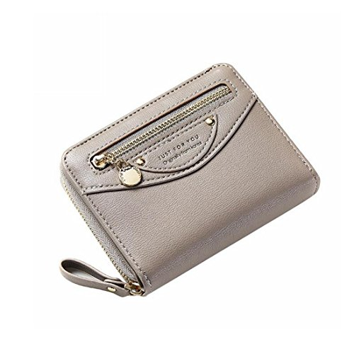 KDXBCAYKI vrouwen hand vasthouden van een munt portemonnee Mini Smiley Multi-Capacity Effen kleur dames portemonnee mode pakketten