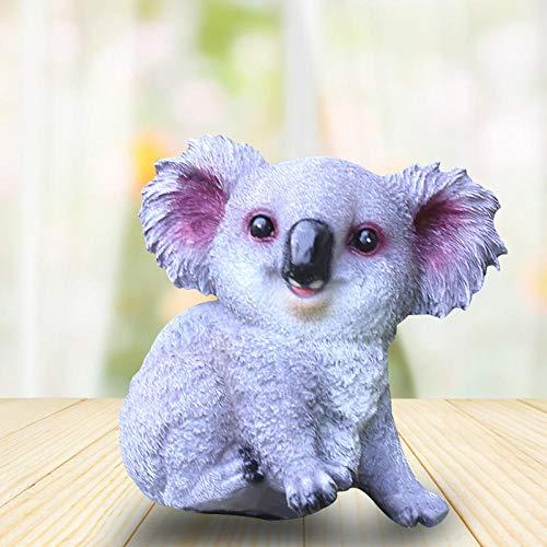 MYTY Mignon Koala Statue Creative Résine Décoration de Jardin Animal Décoration de Maison