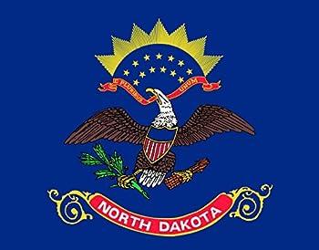 magFlags XXXS Flag North Dakota | Landscape Flag | 0.135m² | 1.5sqft | 32x40cm | 13x15inch - 100% Made in Germany - Long Lasting Outdoor Flag