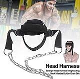 Flox Nacken Kabelbaum für Gewicht Lifting, Widerstand Training, oder Verletzung Erholung mit Lang...