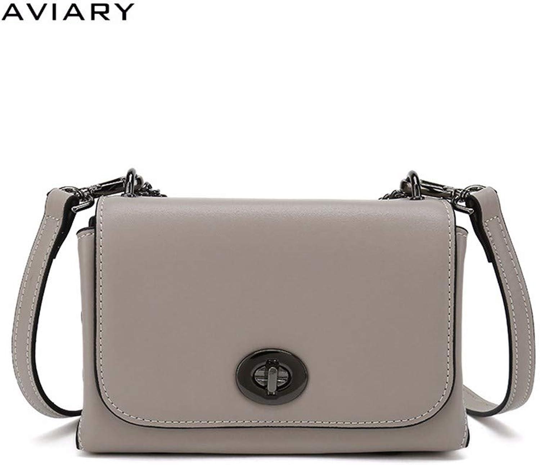 XUZISHAN Lady Leder Bag Single Schulter Schulter Schulter Messenger Crossbody Fashion Handtasche Kreuz Square B07KWKNM78 fbca51