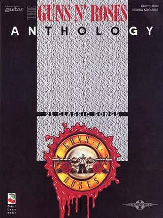 ANTHOLOGY - arrangiert für Gitarre - mit Tabulator [Noten / Sheetmusic] Komponist: GUNS N ROSES