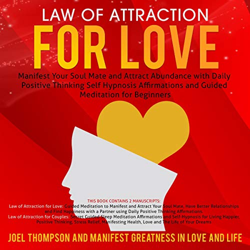 Law of Attraction for Love audiobook cover art