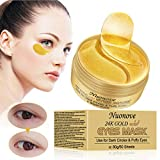 Patches Yeux, Masque Yeux, Patch Collagene Yeux, Mask Yeux, 24K Or Poudre Gel...