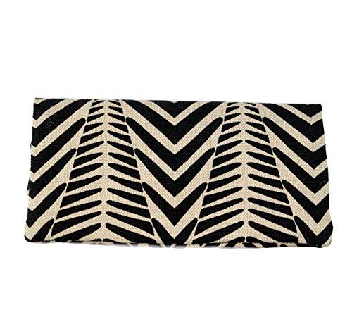 Plan B, Portasigarette Tabacco Trinciato, Yolo Zebra, 16 x 8,5 cm, 50 g, con Borsa in Gomma EVA, Bianco e Nero