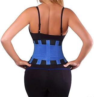 LUOSI justerbar fitness sport bälte träning midja träning tunn midja för kvinnor träning magen kropp skönhet midja stöd mi...