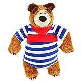 Masha and the Bear Funny Character Stuffed Plush Toy Bear Misha Party Supplies Masha y el OSO para ninos
