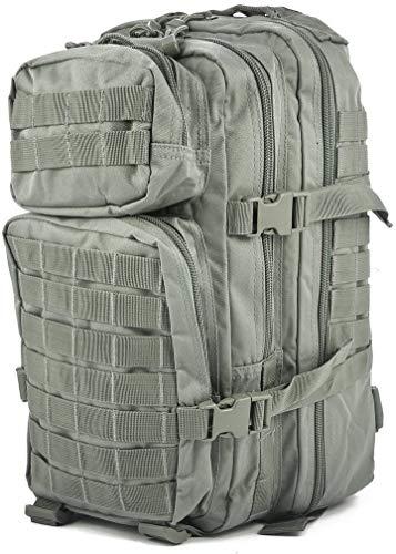 Zaino militare americano, Uomo Donna Unisex, 14002006, Fogliame, S