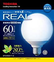 東芝 電球形蛍光灯 G15形・昼光色ネオボールZリアル EFG15ED/11-Z EFG15ED/11-Z  口金直径26mm