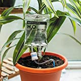 Bubblegum Stuff Plant Life Support Drip, Automatic Watering System for House Plants, Irrigation Device, Plant Waterer for Indoor Plants, Fun and Useful Home, Gardening, and Lifestyle Accessory