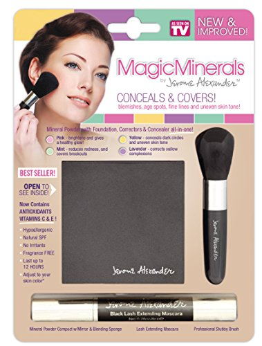 Magic Minerals Deluxe 3 Piece Set Mineral powder by Magic Minerals
