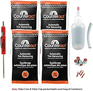 Counteract DIYK-6 Tire Balancing Beads Light Truck/Off-Road - 6oz DIY Kit (24oz)