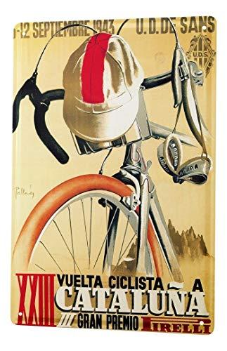 LEotiE SINCE 2004 Blechschild Metallschilder Wandschild Blech Poster Retro Radsport