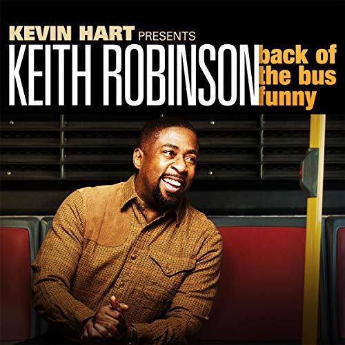 Keith Robinson: Back of the Bus Funny cover art