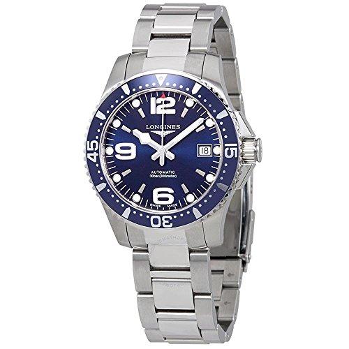 orologio longines uomo Longines da uomo orologio da polso bracciale in acciaio inox + gomma automatico l37414966