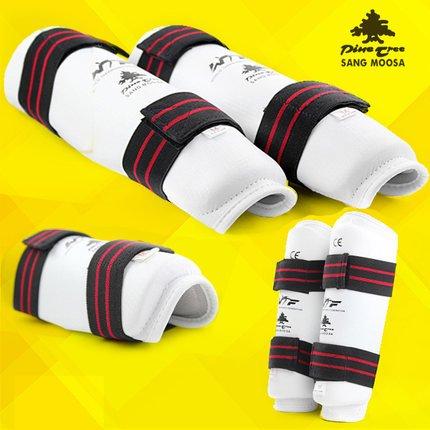 Arm Guard PU Leather Adult Kids Taekwondo Muay Thai Boxing Shin Guards Pads