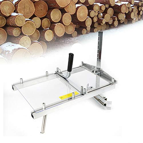 Chainsaw Mill HaroldDol Draagbare kettingzaag, 14-20 inch, mobiel zaagwerk, klein hout, zaaghulp, motorkettingzaag