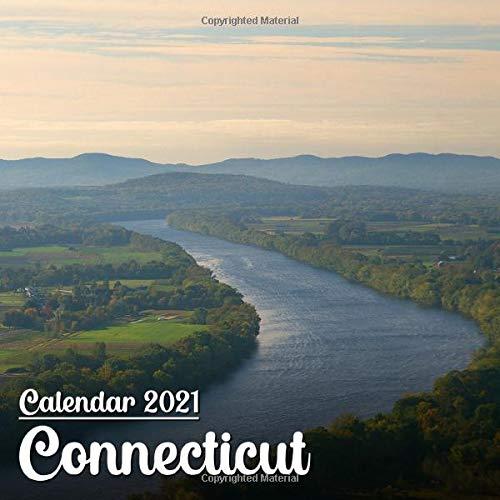 Calendar 2021 Connecticut: Beautiful Connecticut Photos Monthly Mini Calendar | Small Size