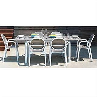 タカショー アロロ テーブルチェア7点セット モカ 『ガーデンチェア ガーデンテーブル セット』