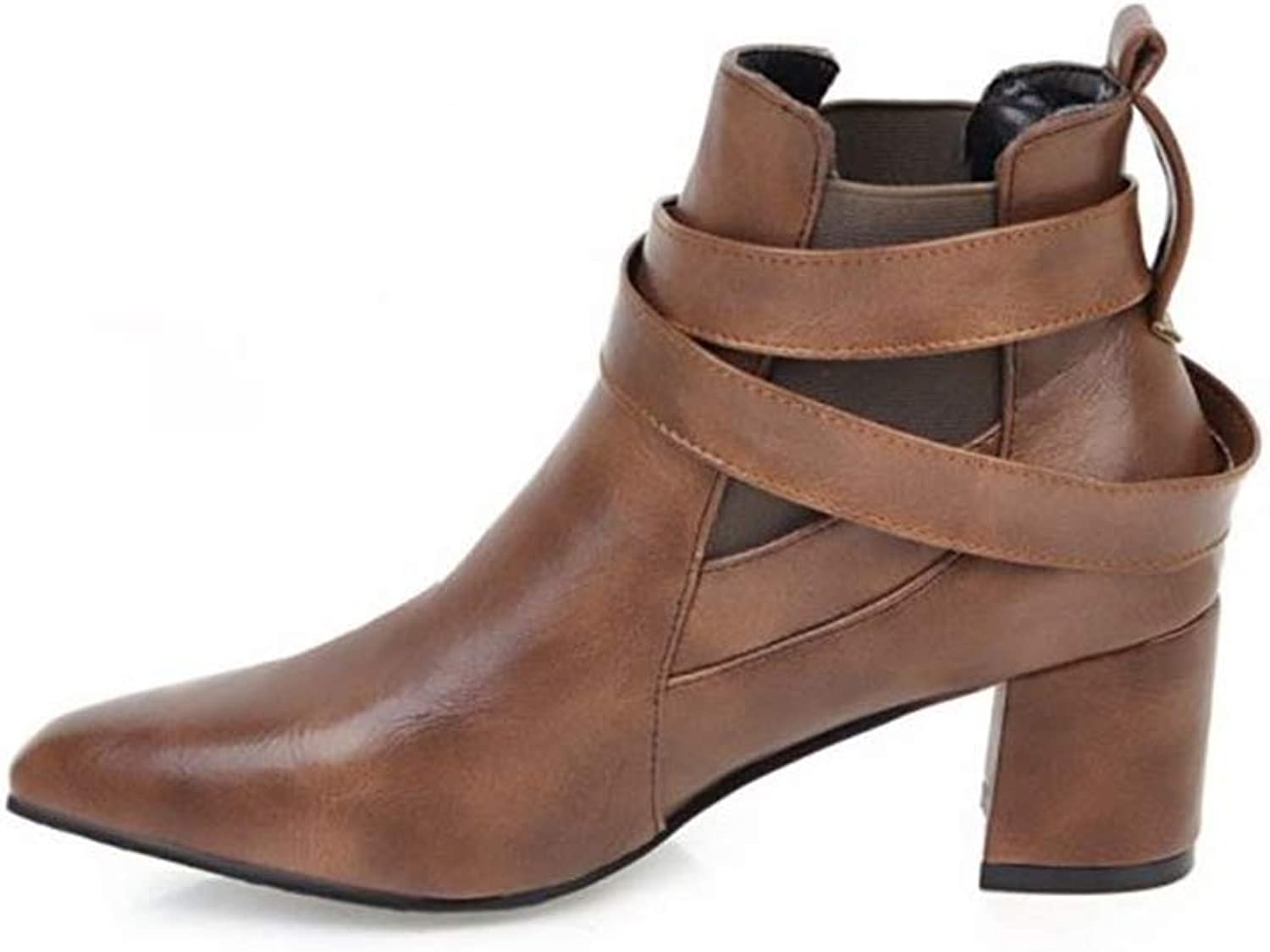 Excellent.c Women's Booties Sweet and Thick Martin Boots Platform Boots
