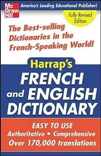 Harrap's French and English Dictionary (Harrap's Dictionaries)